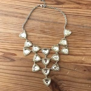 Gold H&M gold collar necklace